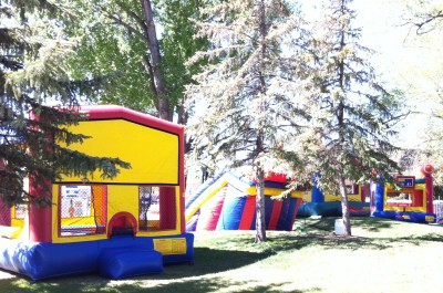 bouncy-houses